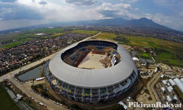Gbla Jalak Harupat Diusulkan Jadi Lokasi Final Sepakbola Asian Stadion