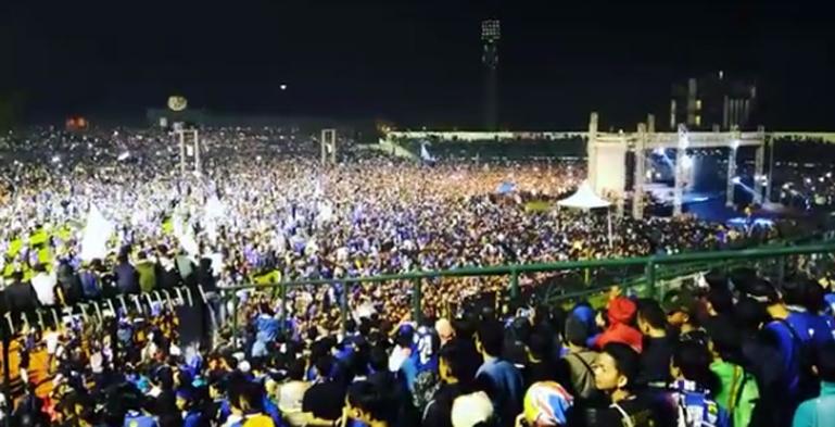 Informasi Seputar Launching Skuad Persib 2017 Bandung Raya Kemeriahan Stadion