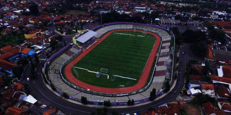 Mengenal Stadion Galuh Ciamis Lapangan Sepak Bola Kelas Eropa Instagram