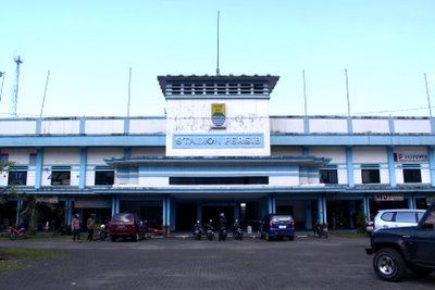 Persib Bandung Sitekno Stadion Siliwangi Kota Kab