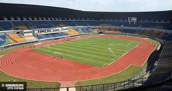 Shanekala Adventure Stadion Sepakbola Indonesia Terletak Kecamatan Gedebage Kota Bandung