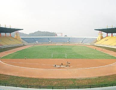Stadion Sepakbola Indonesia Jalak Harupat Siliwangi Bandung Kab