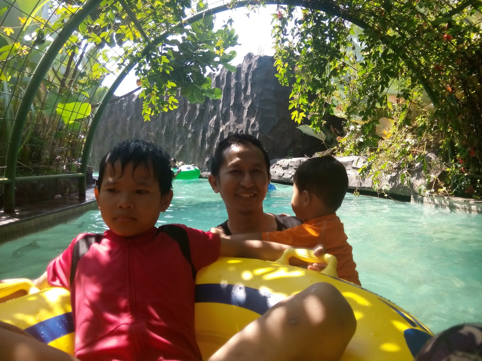 Journey Writing Skill Wisata Air Pesona Nirwana Terowongan Gua Tanaman