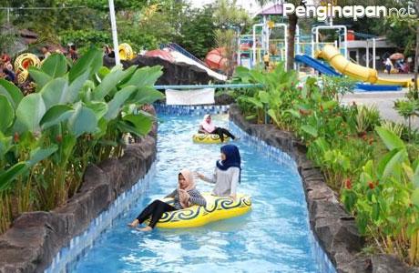 Lokasi Wisata Wahana Permainan Air Seru Menarik Bandung Tektona Waterpark