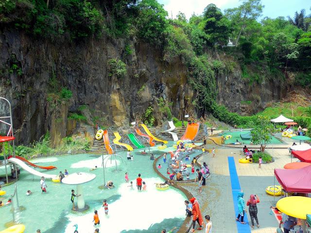 Pesona Nirwana Waterpark Cottages Soreang Bandung Kantor Pemda Kabupaten Mempunyai