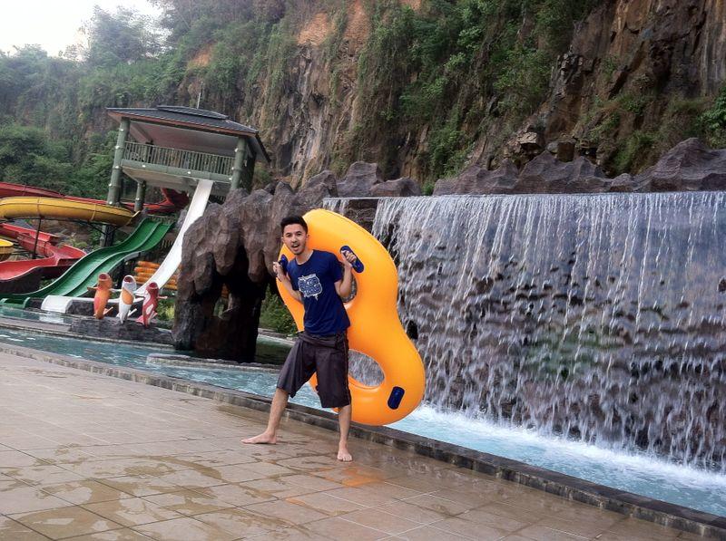 Pesona Nirwana Waterpark Soreang Kab Bandung Bernuansa Img 20140814 Wa0013