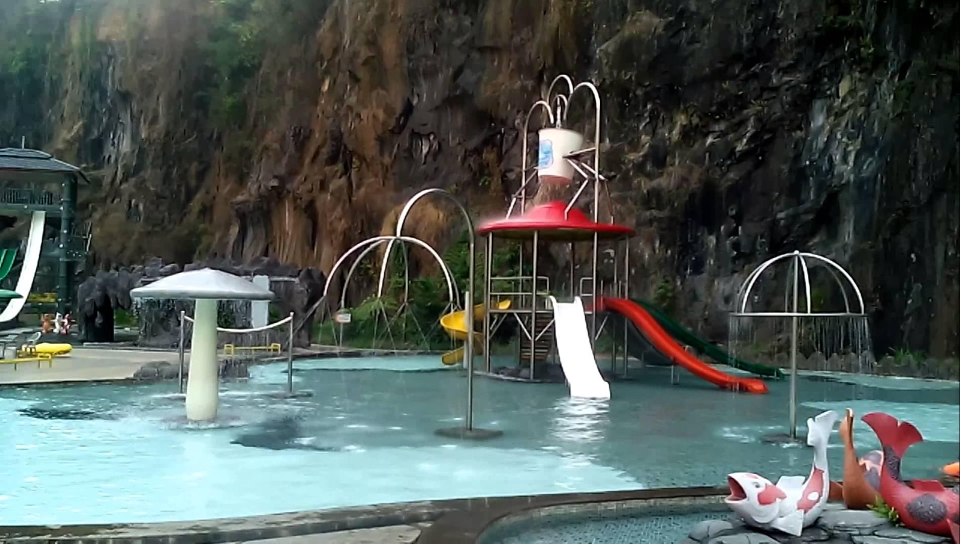 Pesona Nirwana Waterpark Wisata Bandung Youtube Taman Air Kab