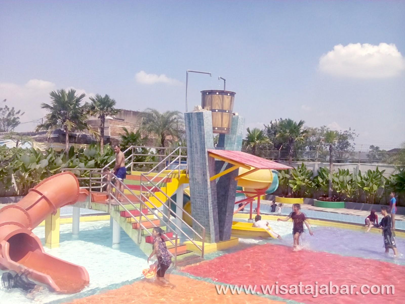 Rekomendasi Tempat Wisata Renang Bandung Selatan Taman Air Nirwana Kab