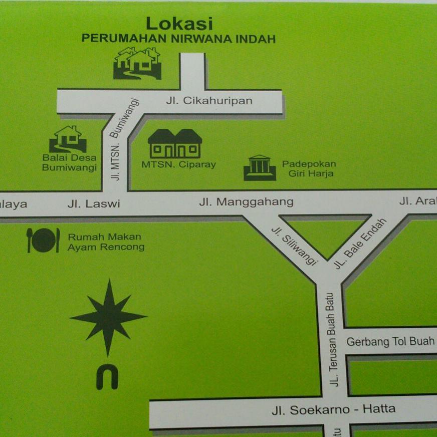 Rumah Dijual Murah 190 Juta Bagus Ciparay Bandung Taman Air