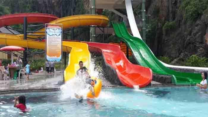 Water Park Soreang Pilihannya Pesona Nirwana Bandung Taman Air Kab