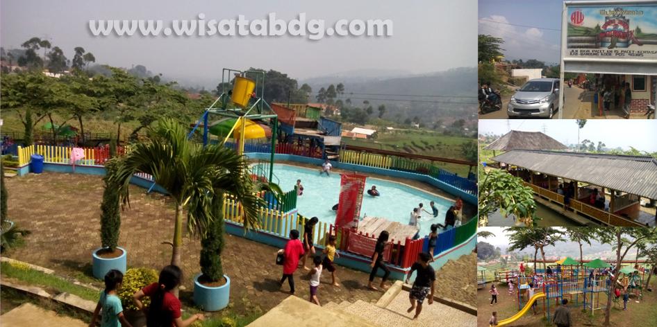 Wisata Renang Keluarga Pesona Nirwana Waterpark Soreang Bandung Taman Air
