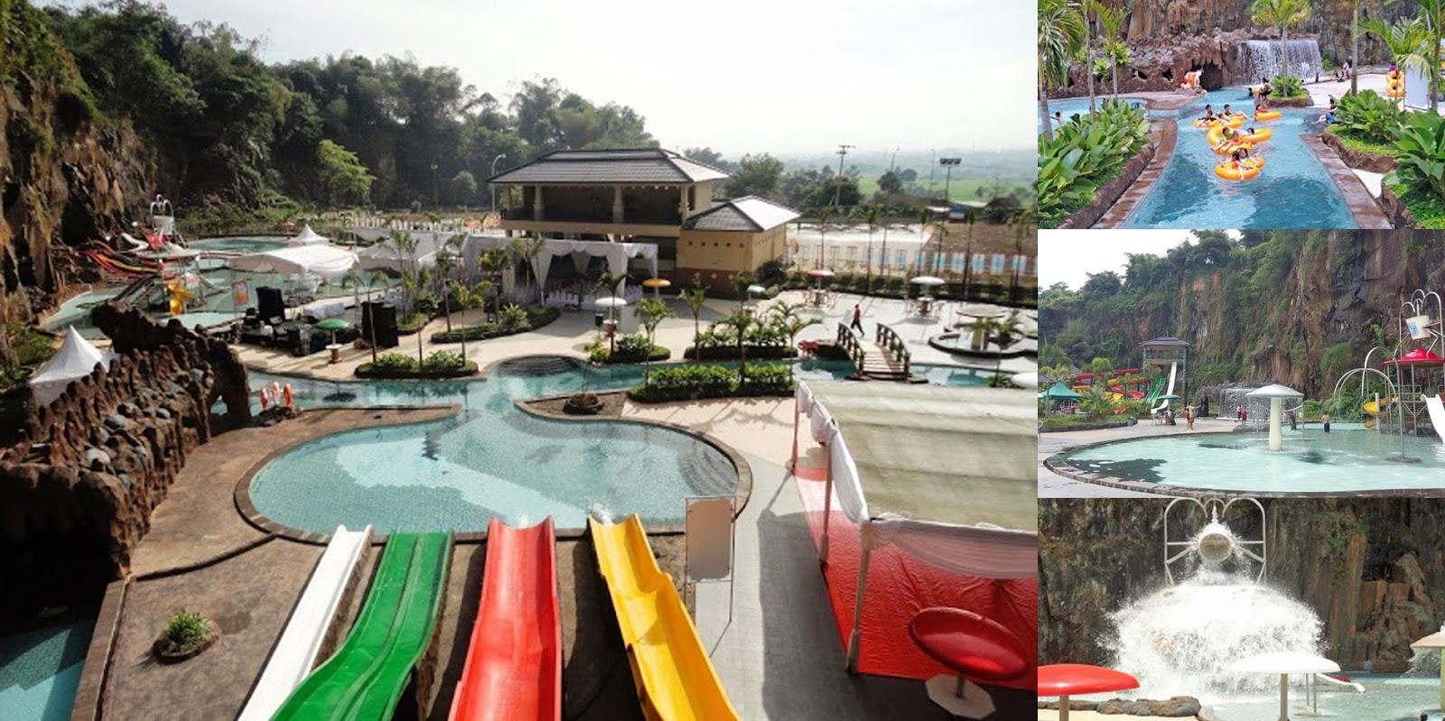 Wisata Renang Keluarga Pesona Nirwana Waterpark Soreang Kab Bandung Lokasi