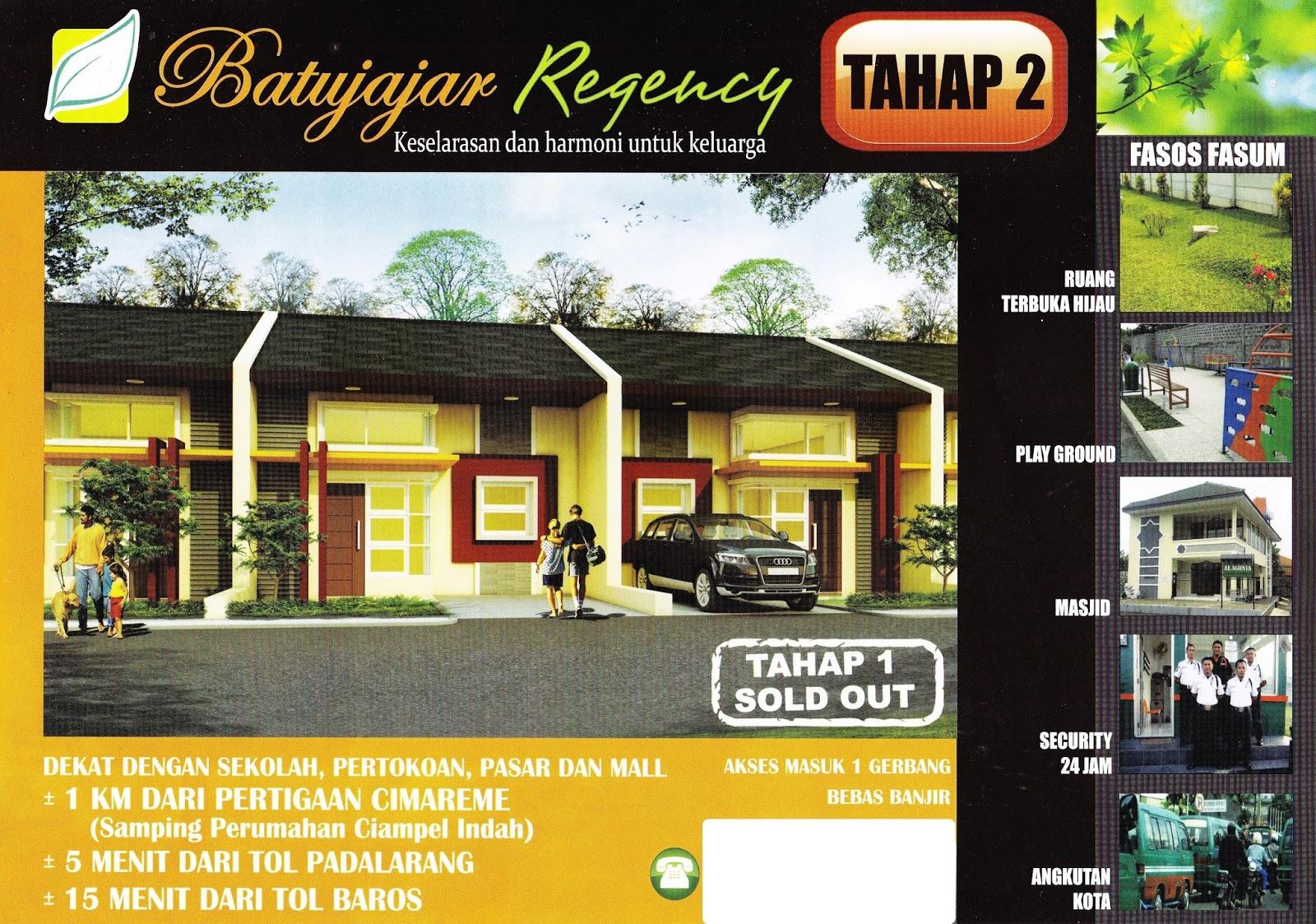 Batujajar Regency Tahap 2 Kab Bandung Barat Cari Rumah Taman