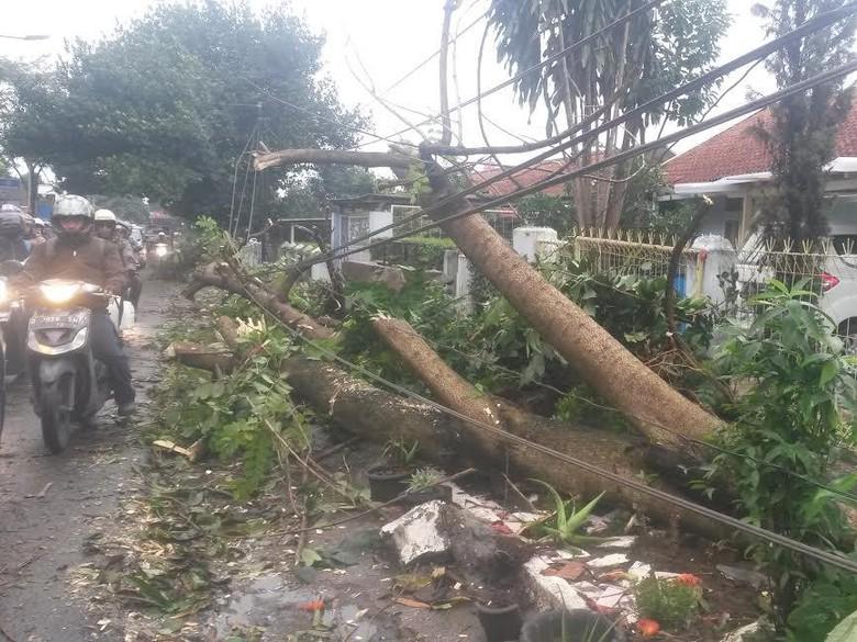 Hujan Angin 83 Rumah Kabupaten Bandung Rusak Dihantam Taman Cempaka