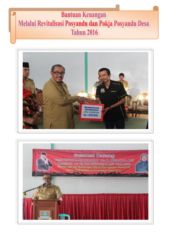 Pokjanal Posyandu Kabupaten Bandung Barat 9 Taman Cempaka Kab