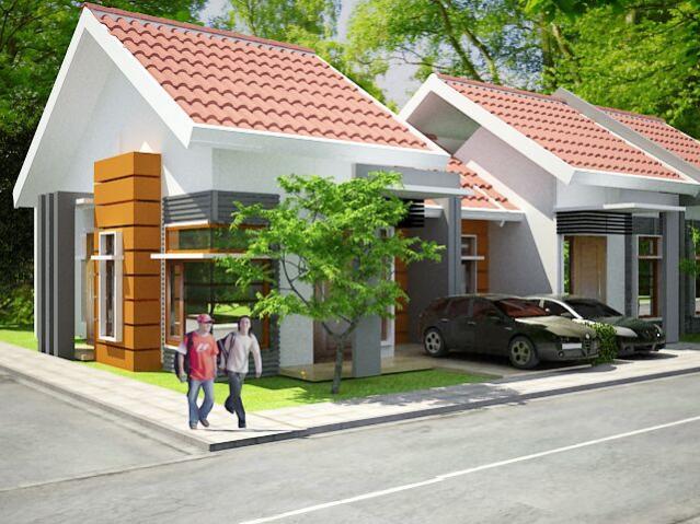 Rumah Dijual Syariah Cluster Cempaka Asri Kamarung Cimahi Bandung Utara