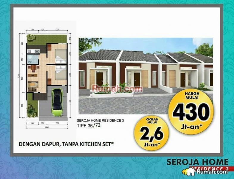Rumah Seroja Home Residence 3 Dp 20 Juta Soreang Kab