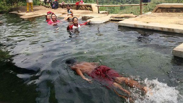 Surga Tersembunyi Pelosok Desa Drawati Balebandung Kolam Air Campaka Kaki