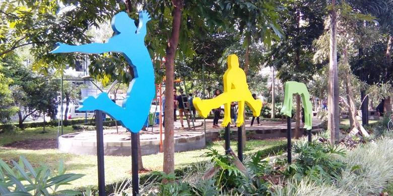 Bergerak Lebih Aktif Taman Gesit Bandung Kompas Kab