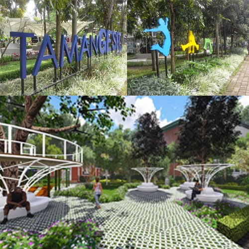 Taman Gesit Tempat Nongkrong Sambil Gerak Badan Wisata Bandung Rabu