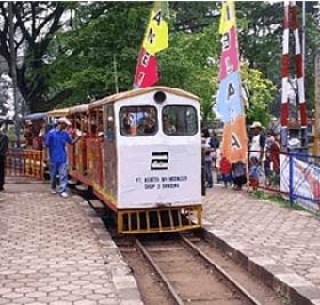 Tempat Wisata Anak Taman Lintas Bandung Terbaik Kereta Mini Gesit