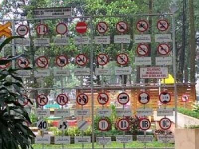 Tempat Wisata Anak Taman Lintas Bandung Terbaik Rambu Gesit Kab