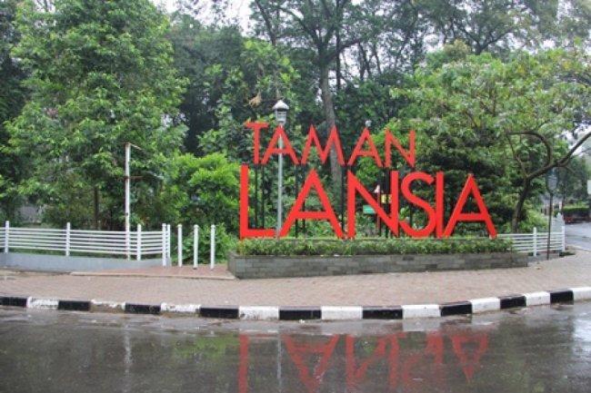 Badung Tertarik Penataan Taman Lansia Kota Bandung Kab