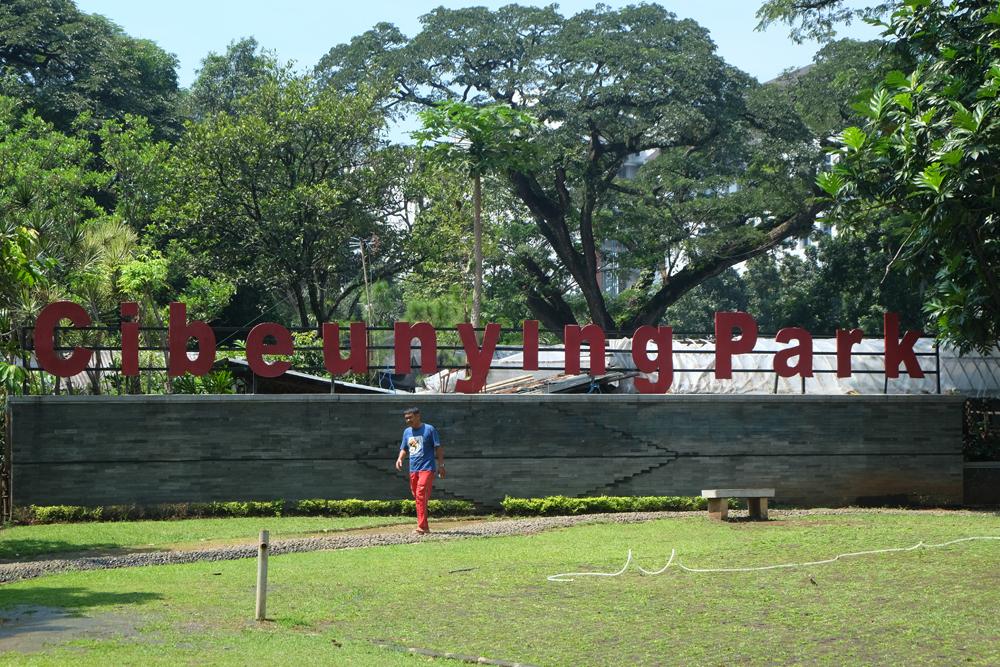 Jawa Barat Bandung Indah Taman Cibeunying Destinasi Lansia Kab