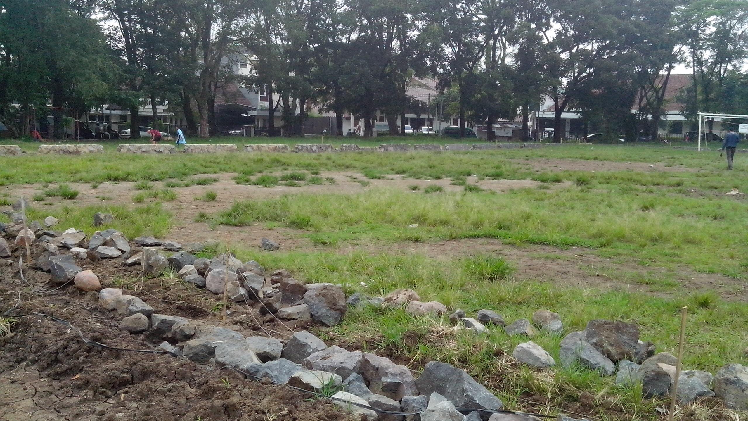 Kisah Lapangan Supratman Permasalahan Sepak Bola Revitalisasi Taman Kota Bandung