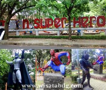 Mengajak Anak Bermain Taman Superhero Jalan Anggrek Wisata Bandung Setelah