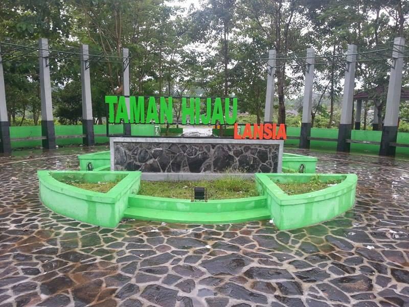 Taman Hijau Lansia Tasikmalaya Indah Mempesona Iwan Singadinata Indonesiana Kab
