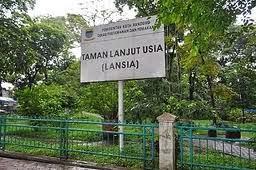 Taman Lansia Bandung Tempat Wisata Indonesia Sebuah Kota Menjadi Area