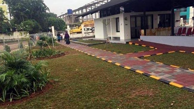 Taman Lansia Rptra Rasela Diresmikan Wali Kota Jakut Poros Jakarta