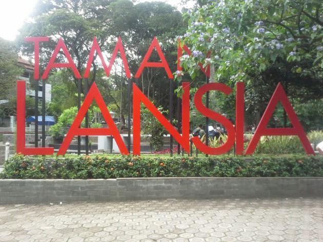 Taman Lansia Tempat Bermain Bersantai Bagi Kaula Muda Kab Bandung
