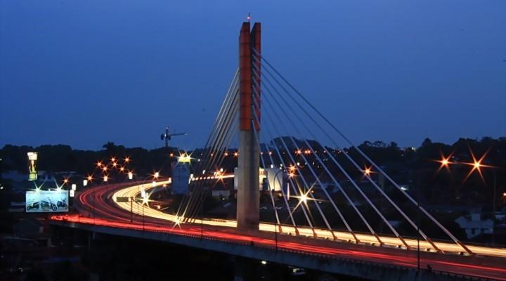 Pemkot Bandung Mulai Pasang Smart Lighting Jembatan Pasupati Taman Kab