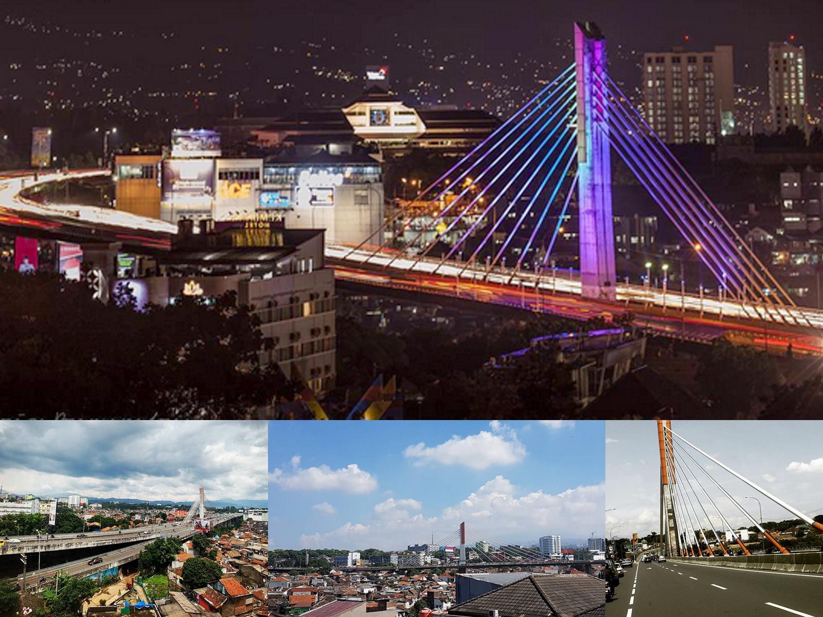 Sejarah Profil Jembatan Layang Flyover Pasupati Wisata Bandung Taman Kab