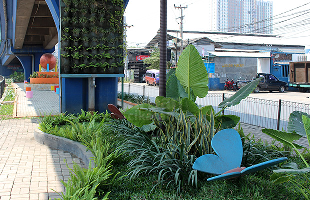 Tak Bandung Taman Jomblo Cikarang Meski Tidak Nama Resmi Kupu