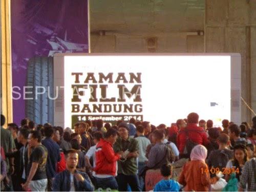 Taman Film Kolong Fly Hibur Warga Bandung Seputar Jabar Walikota