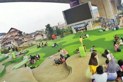 Tempat Nongkrong Murah Bandung Bayar Parkir Doang 10 Taman Pasupati