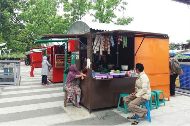 Bandung Merdeka Pembangunan Skywalk Cihampelas Tahap Dua Teras 2018 Reporter