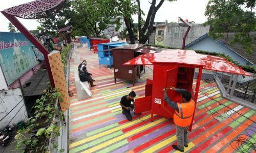 Hari 192 Pkl Direlokasi Teras Cihampelas Kab Bandung
