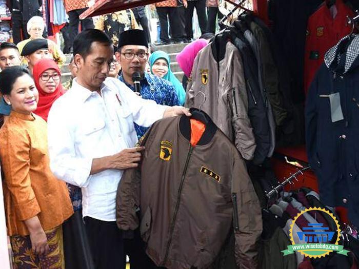 Jokowi Apresiasi Teras Cihampelas Mendukung Umkm Wisata Bandung Kunjungan Kab