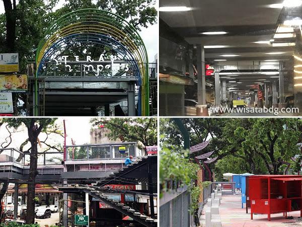 Teras Cihampelas Ikon Wisata Bandung Jembatan Sky Walk Kab