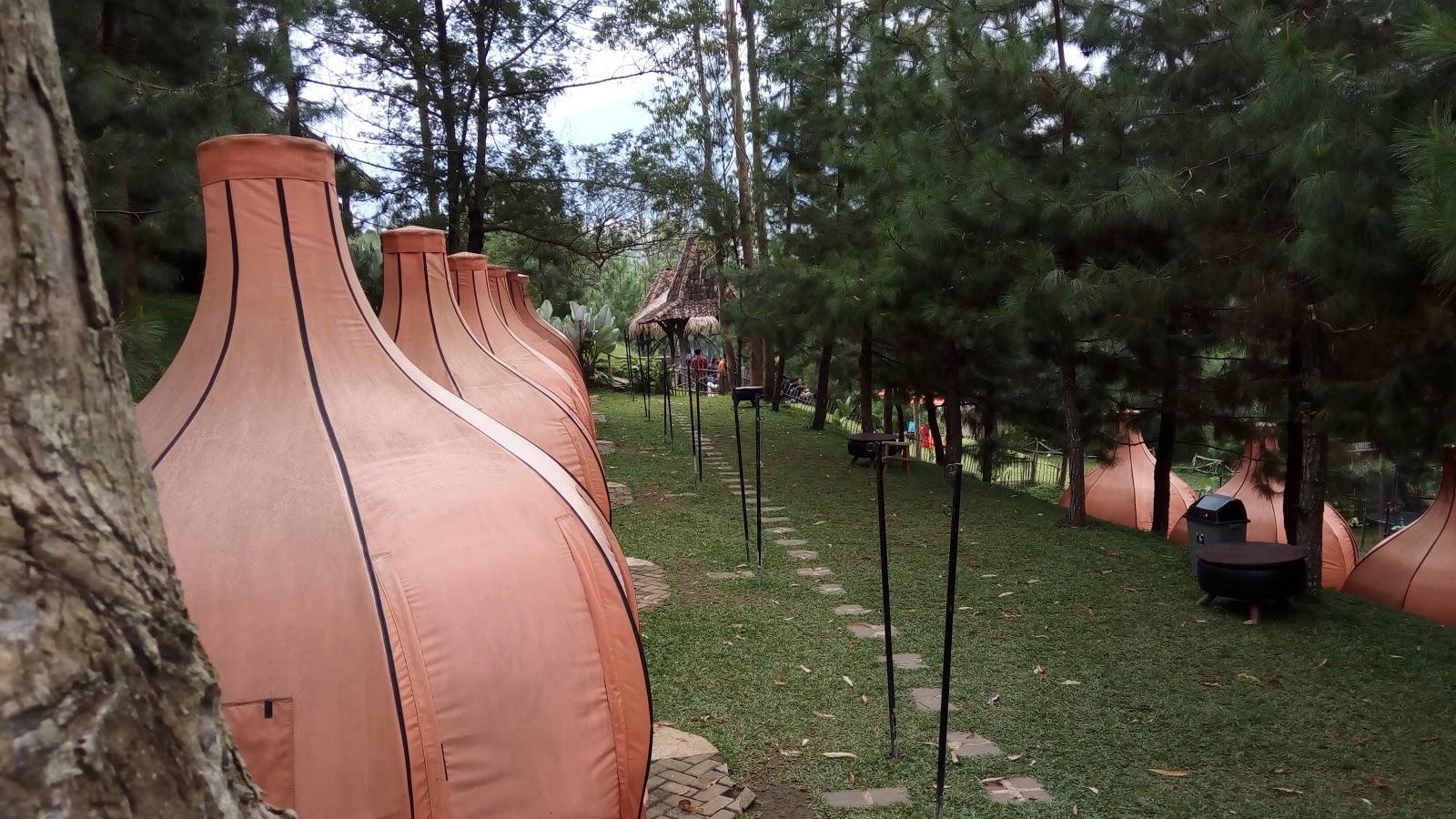 Camping Lodge Maribaya Wisata Bandung Pinterest Kab