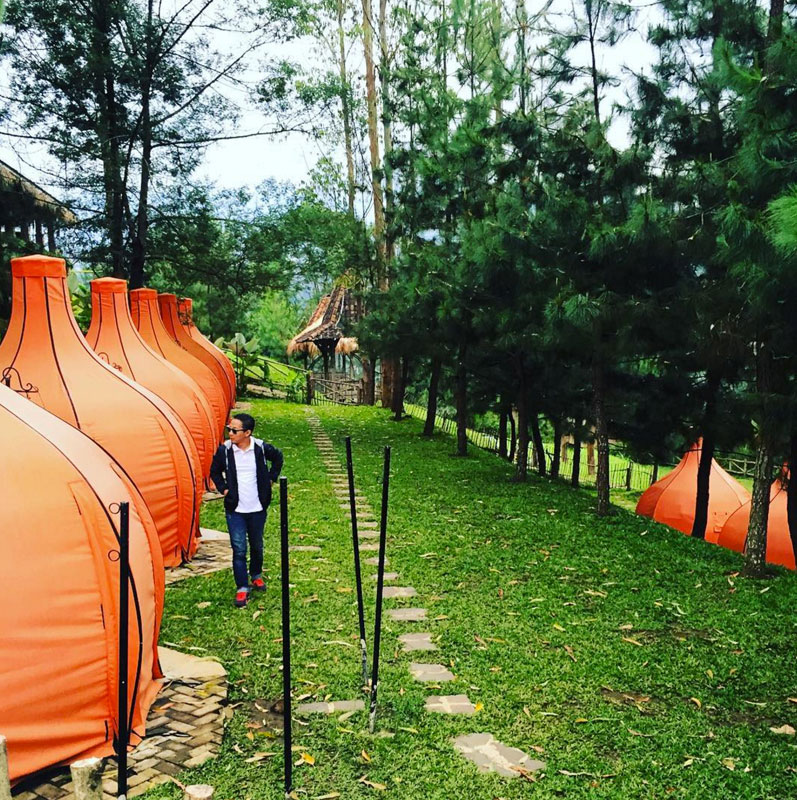 Inilah 6 Objek Wisata Keren Lembang Bandung Lodge Maribaya Kab