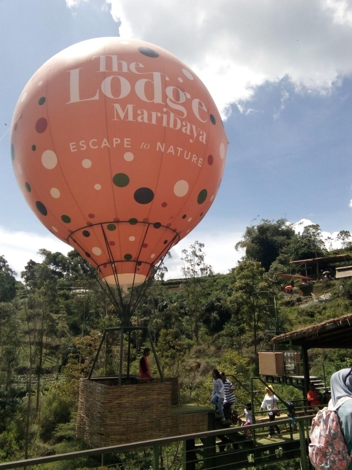 Lodge Maribaya Bandung Wisata Alam Jaman Cayo Indonesia Balon Udara