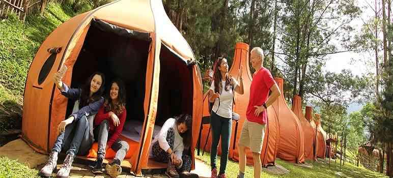 Lodge Maribaya Fasilitas Harga Tiket Masuk Earthbound Kab Bandung