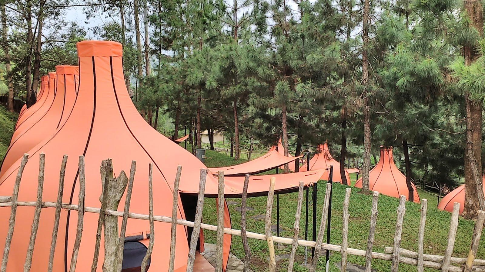 Lodge Maribaya Lembang Bandung Tenda Kab