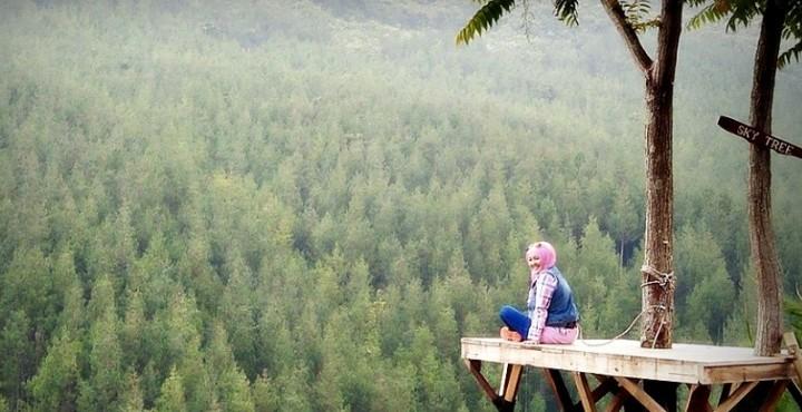 Lokasi Alamat Lodge Maribaya Lembang Bandung Suasana Pegunungan Kab
