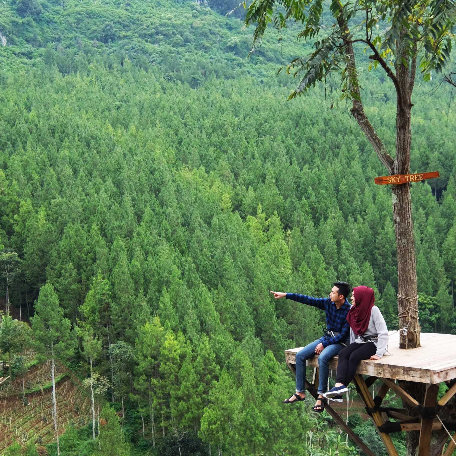 Mangkuk Orat Oret Ira Menguji Sabar Lodge Maribaya Kab Bandung